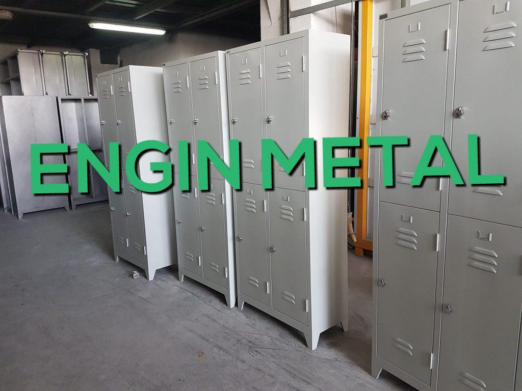 4 lü çelik işçi metal personel soyunma dolabı modelleri ve fiyatları