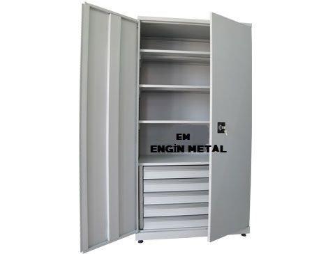 çelik malzeme dolabı