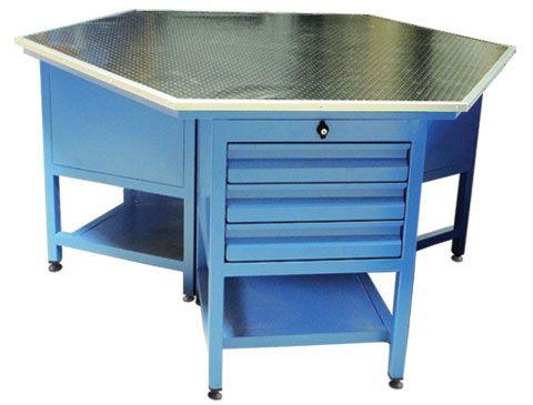 çelik çalışma masaları