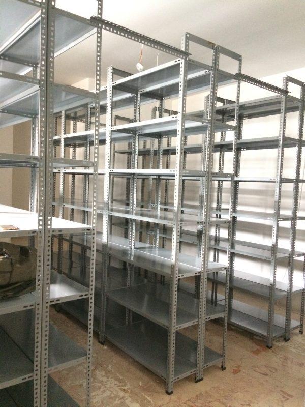 Civatalı Çelik Raf Sistemleri